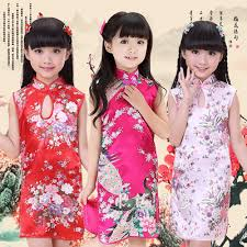 costume new year qoo10 cheongsam cheong sam kids fashion