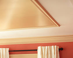 diy project metallic painted ceiling the home depot