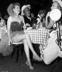 Desi Arnes by Lucille Ball And Her Husband Desi Arnaz At The Hollywood Club