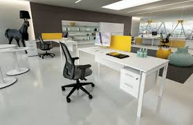 Office Desk Black by Modern White Office Desks Minimalist Furniture With Desk And Black