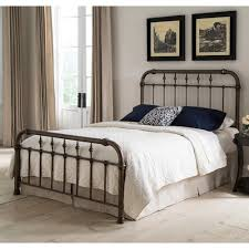 metal bedroom furniture vienna iron bed in aged gold humble abode