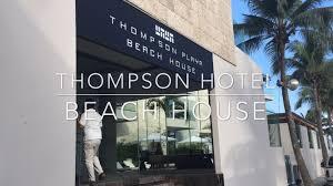 thompson hotel beach house in playa del carmen youtube