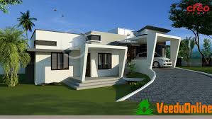 style home design sq ft single floor hill side style home design