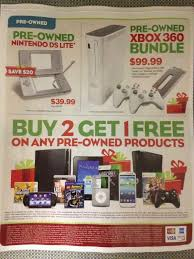 gamestop black friday video gamer u0027s tribune gamestop 2013 black friday deals leaked
