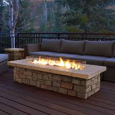 fire table cover rectangle amazon fire pit cover lovely real flame sedona rectangle propane gas
