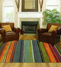 Mohawk 8x10 Area Rug Mohawk Home New Wave Rainbow Printed Rug 8 X10