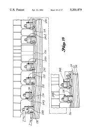 patent us5201479 self monitoring latch pin lock for folding wing