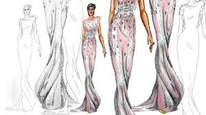 How To Draw Fashion Designs On The Runway Catwalk Pose Fashion Illustration Youtube