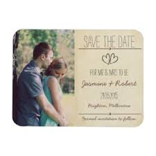 rustic save the date magnets rustic vintage wedding save the date magnet 040 jpg