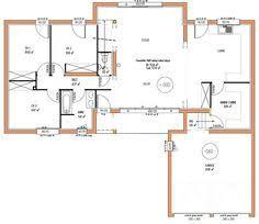 plan maison en l 4 chambres plan maison à étage 4 chambres immobilier pour tous immobilier