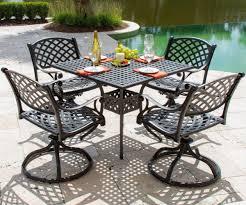 thrifty a teak with heritage person cast aluminum patio set cast