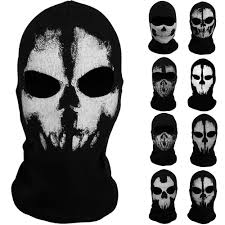 call of duty ghost logan mask new call of duty 10 ghost skull face mask cosplay balaclava