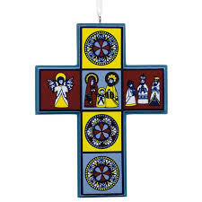 cross religious hallmark ornament specialty ornaments hallmark