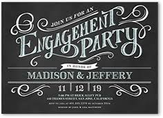 engagement party invites engagement party invitations shutterfly