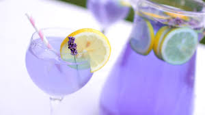 lavender cocktail diy luscious lavender lemonade youtube