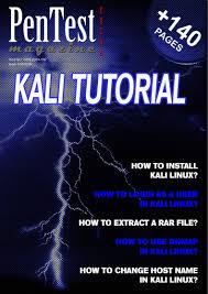 kali linux latest tutorial kali linux the backtrack successor ebook pentest extra 01 2014
