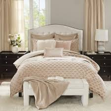 Jacquard Bed Set Park Signature Chic Pink Chenille Jacquard