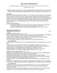 Pharmaceutical Sales Resume Sample by Pharmaceutical Resume Enwurf Csat Co