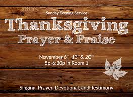 calvary bible church burbank ca thanksgiving prayer praise