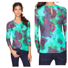 j crew blouses 75 j crew tops j crew chiffon top in hothouse floral