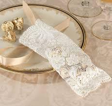 lace favor bags ivory lace favor bags