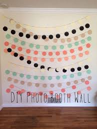 How Much Does A Photo Booth Cost 10 Diy Wedding Photo Booths Photo Booth Wall Diy Photo Booth