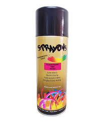 buy sprayons fluorescent pink thermocol safe spray paint 400 ml