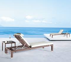 Outdoor Chaise Lounge Furniture Outdoor Chaise Lounge With Ergonomic Seating Settings Traba Homes