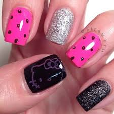 211 best nail designs hello kitty images on pinterest hello