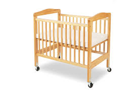 Crib With Mattress L A Baby Compact Wooden Window Portable Crib With Mattress