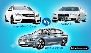 2009 audi a4 vs bmw 3 series audi a4 vs mercedes c class vs bmw 3 series
