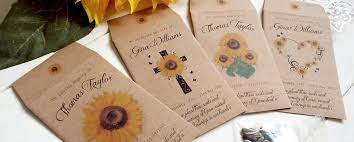 memorial service favors memorial seed favours archives bespoke