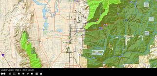 Park City Utah Trail Map by Official Site Of Cache County Utah Trails U0026 Parks Viewer
