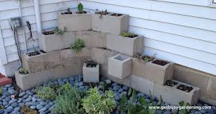 dreaming of concrete blocks raised beds planters tables and