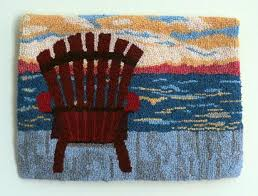 Wool Hand Hooked Rugs 1382 Best Hooked Rugs Landscapes Pictorials Images On Pinterest