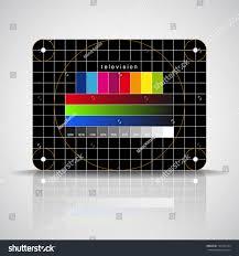 color test led tv color test pattern test stock vector 134332724 shutterstock