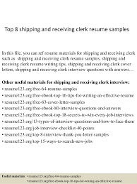 Warehouse Job Description Resume Sample by Shipping And Receiving Resume Examples Topshipping And Receiving