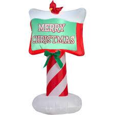 gemmy airblown santa sleigh walmart