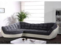 canapé d angle cocooning canape cuir design prestige blanc noir canape canapes