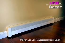 Full Length Patio Heater Cover by Baseboarders Baseboard Heater Covers
