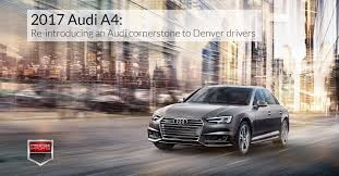 2017 audi a4 re introducing an audi cornerstone
