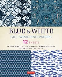 high wrapping paper blue white gift wrapping papers 12 sheets of high quality 18 x 24