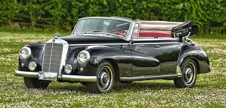 mercedes adenauer 1953 mercedes adenauer 4 door convertible for sale