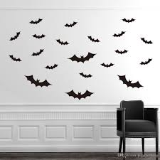 diy pvc bat wall stickers for kids rooms home decor living room