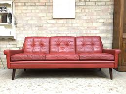 vintage leather chesterfield sofa vintage danish leather sofa uk memsaheb net