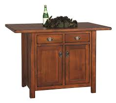 custom made kitchen island your own custom amish made kitchen island mission style