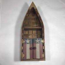 Wooden Canoe Shelf Plans by Wooden Boat Shelf Wall Shelves Ebay