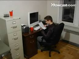 office at home how to set up a home office without an extra room youtube