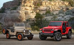 jeep ford 2017 2018 all new jeep wrangler history