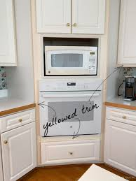 how do you clean yellowed white kitchen cabinets budget friendly kitchen makeover in 5 days driven by